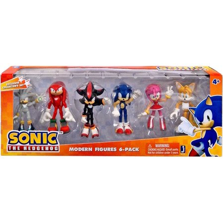 Sonic The Hedgehog Sonic Deluxe Set Action Figure 6 Pack