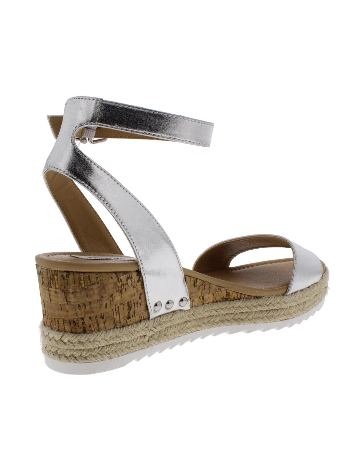 12f38a9fb3d Steve Madden Womens Jaide Leather Wedges Espadrilles