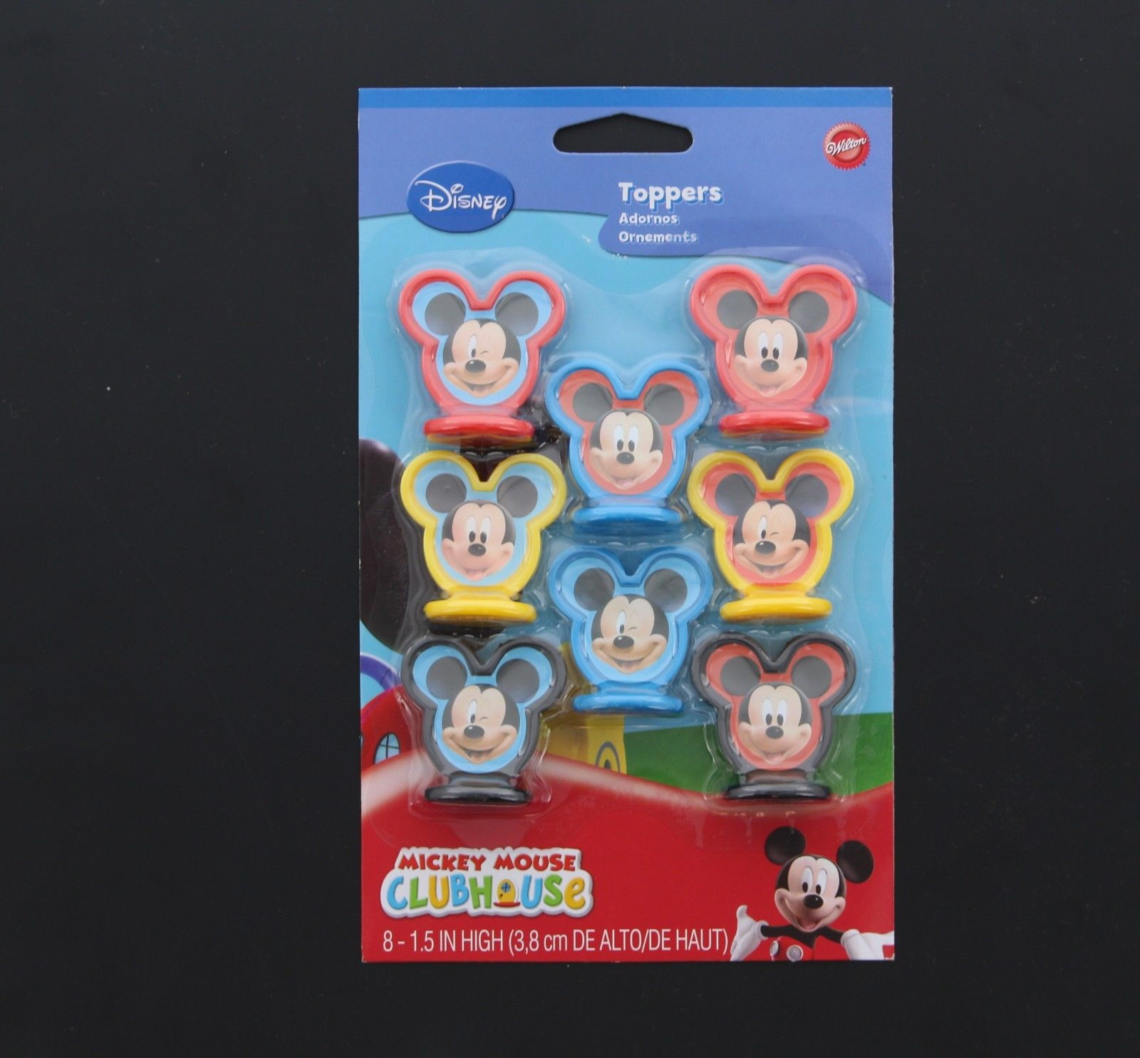 Wilton Disney Mickey Mouse Clubhouse Birthday Cupcake Toppers