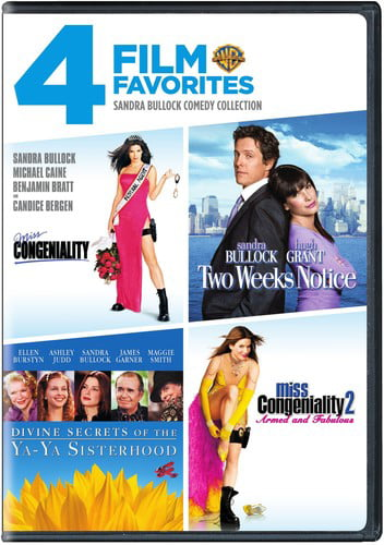4 Film Favorites: Sandra Bullock Comedy Collection by WARNER HOME ENTERTAINMENT