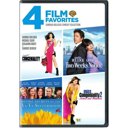 4 Film Favorites: Sandra Bullock Comedy (DVD)](Best Halloween Comedy Movies)