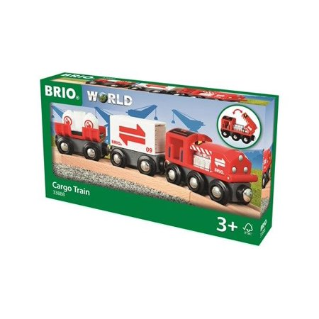 Cargo Train (Brio World) - Train by Brio (33888) (Brio Sky Train)