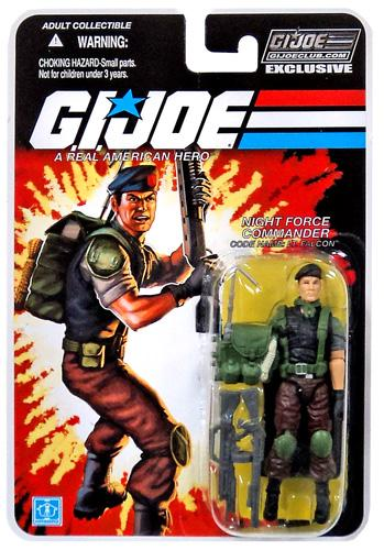 GI Joe 2013 Subscription Exclusive Night Force Falcon Action Figure by
