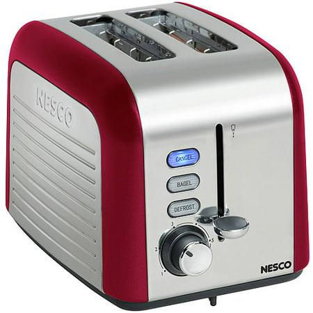 Nesco 2-Slice Toaster, Red