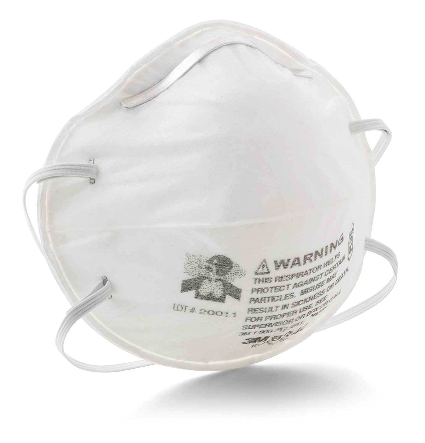 Particulate Respirator 8240, R95 (Pack of 20), Particulat...
