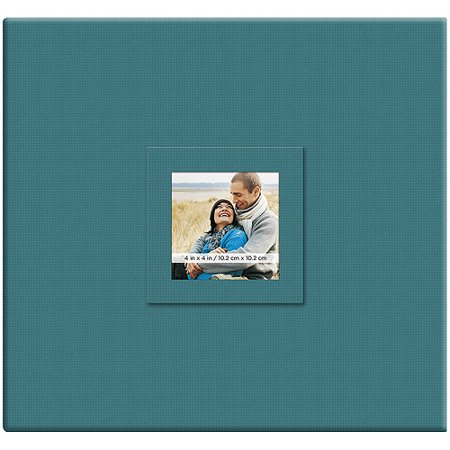 "Earthtone Post Bound Scrapbook with Window, 12"" x 12"""
