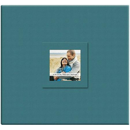 - Earthtone Post Bound Scrapbook with Window, 12