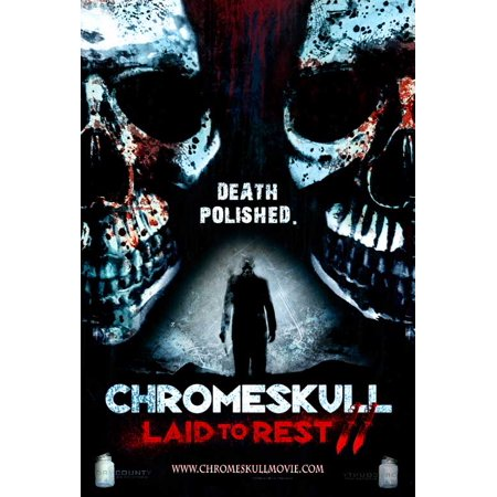 Chromeskull  Laid To Rest 2  2011  11X17 Movie Poster