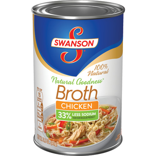 Swanson Natural Goodness Chicken Broth, 14.5 oz.