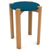 DarLiving urb SPACE Retro Wood Side Table