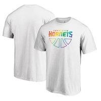 Charlotte Hornets Fanatics Branded Team Pride Wordmark T-Shirt - White