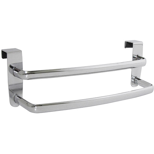 interdesign axis over-the-cabinet kitchen dish towel bar rack, 9