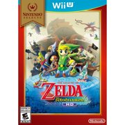 Nintendo Selects: The Legend of Zelda: The Wind Waker HD (Wii U) $15 at  walmart.com online deal