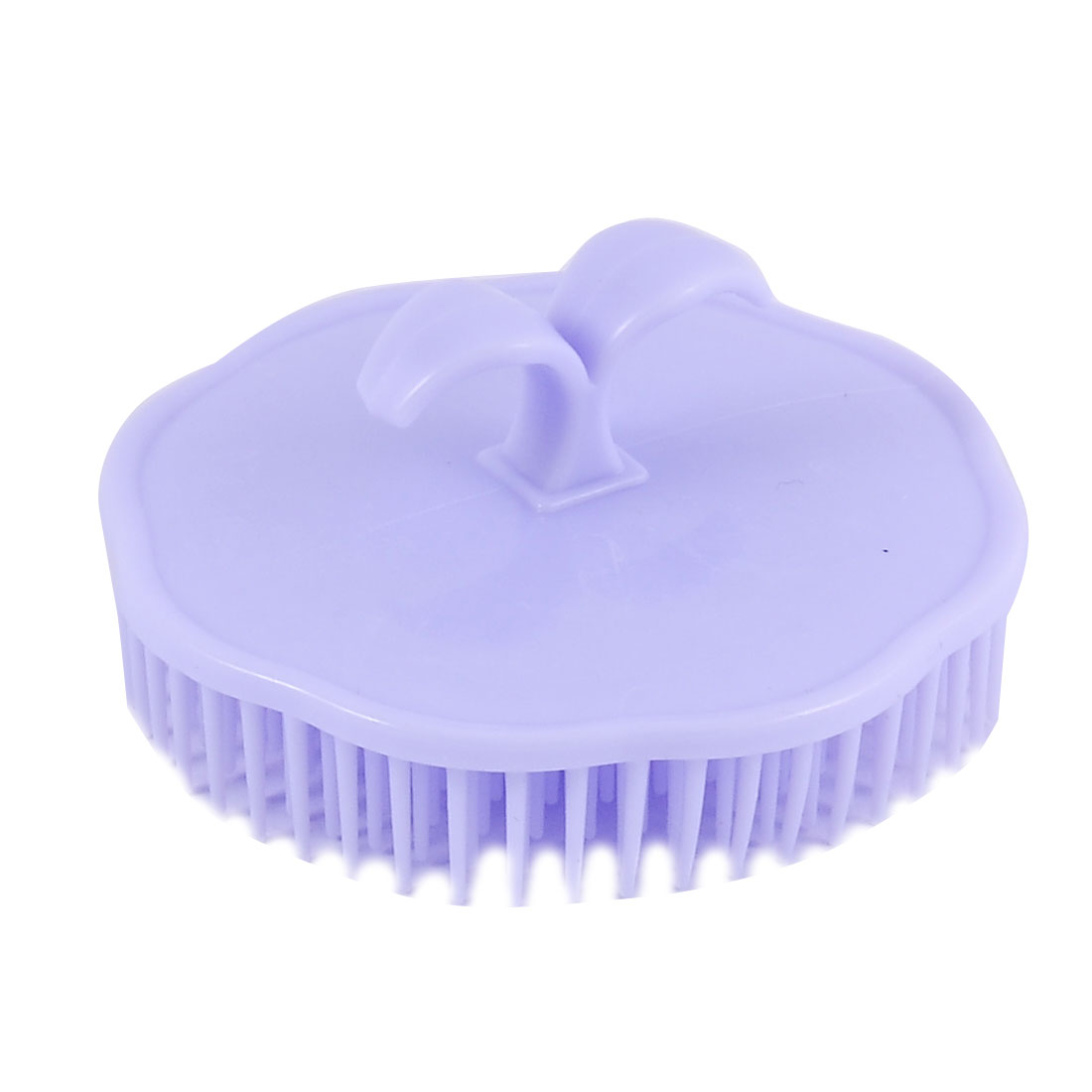 Massage Cuir chevelu Cheveux en Plastique tête Brosse shampooinage Conditionneur Peigne Violet Clair - image 1 de 1