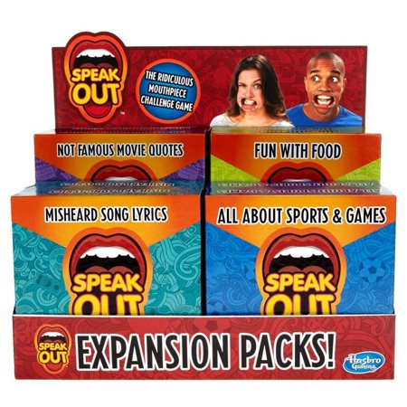 Speak Out Expansion Packs Ast (8) Board Game Hasbro HSBC3866