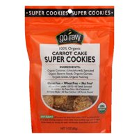 Go Raw Carrot Cake Super Cookies, 3 Oz (Pack of 12)