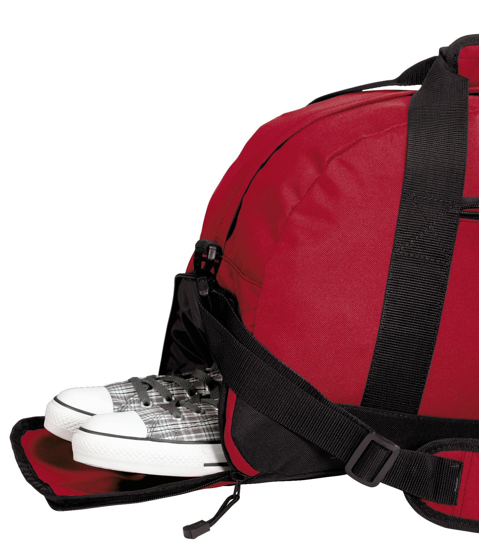 Georgia Bulldogs Gym Bags Georgia Duffle Bag WITH SHOE POCKET! by