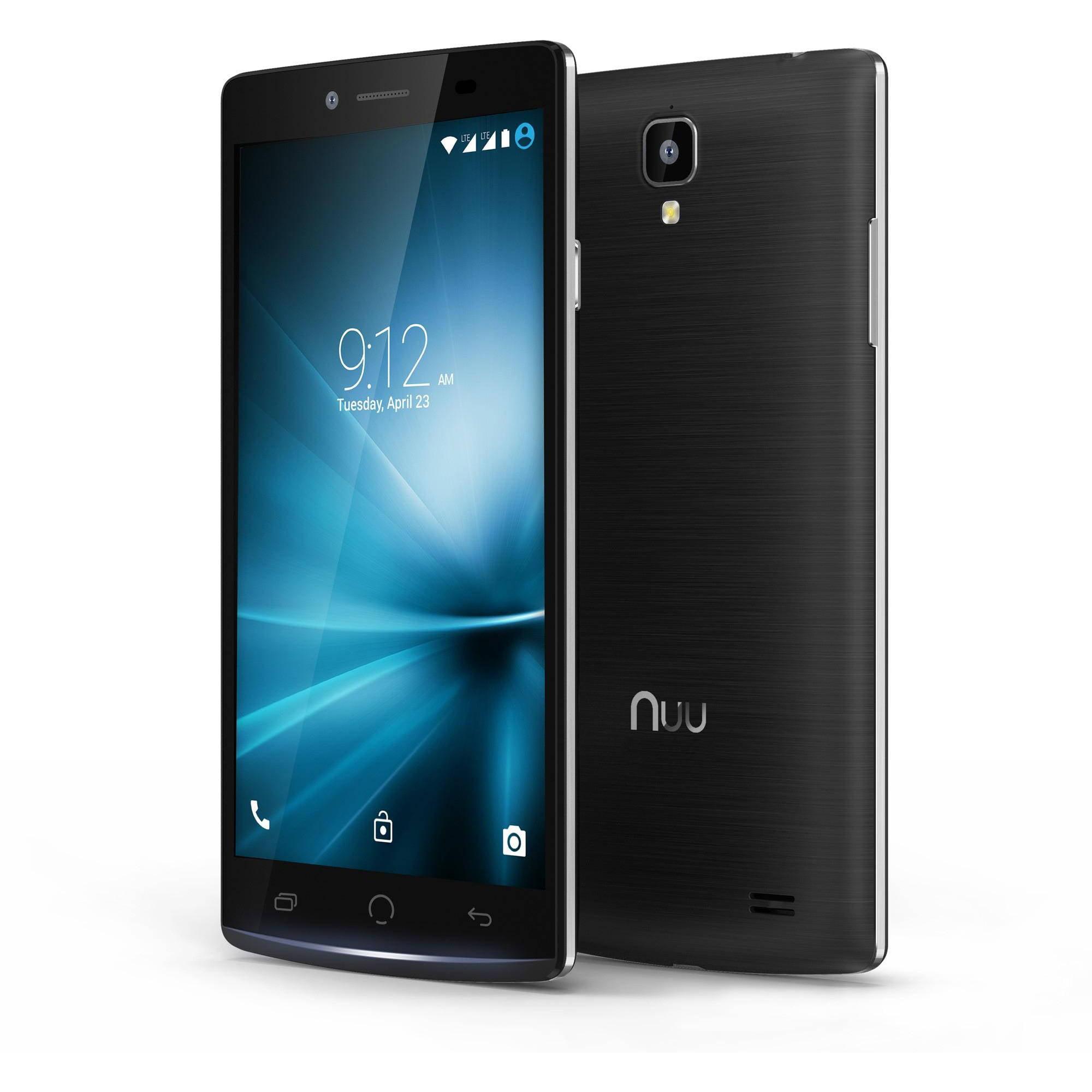 Nuu F1 Compact Flip Phone Unlocked Black Walmart Com