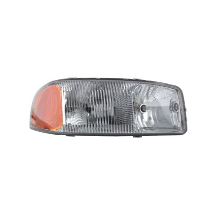 Replacement TYC 20-5567-00-1 Right Headlight For GMC Yukon Sierra Yukon XL (Gmc Yukon Xl 2500 Headlight)