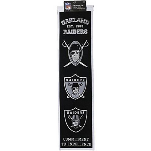 NFL Oakland Raiders Heritage Banner