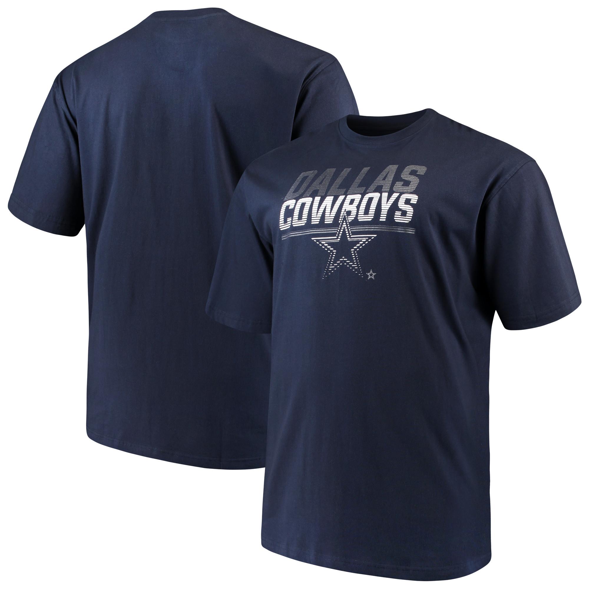 Dallas Cowboys Reflective T-Shirt - Navy