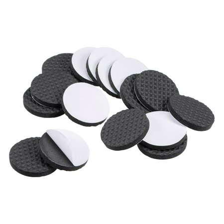 Furniture Pads Adhesive Rubber Pads 30mm Dia 4mm Thick Round Black 48Pcs - image 5 of 5