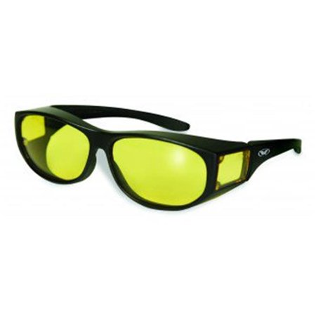 Escort  Glasses With Yellow Tint Lens