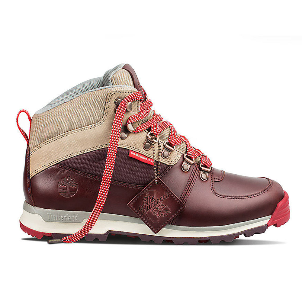 Timberland X The Hundreds Boots Burgundy by