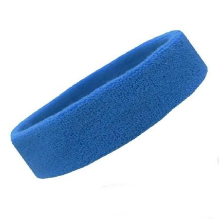 Men & Women Sweat Absorbing Headbands for Running, Basketball, Football, Tennis, Gym Exercise Workout