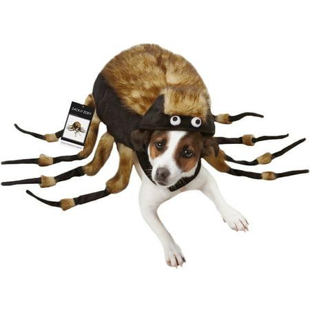 Fuzzy Tarantula Dog Costume  XSMALL - Fuzzy Dress