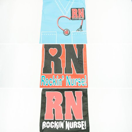 Nurse Tote Bag (Large Rockin' Nurse Tote Bag)