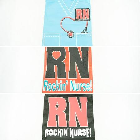 Large Rockin' Nurse Tote Bag