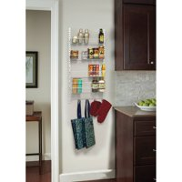 CLOSETMAID 11232 Adjustable 4Tier Wall/DR Rack