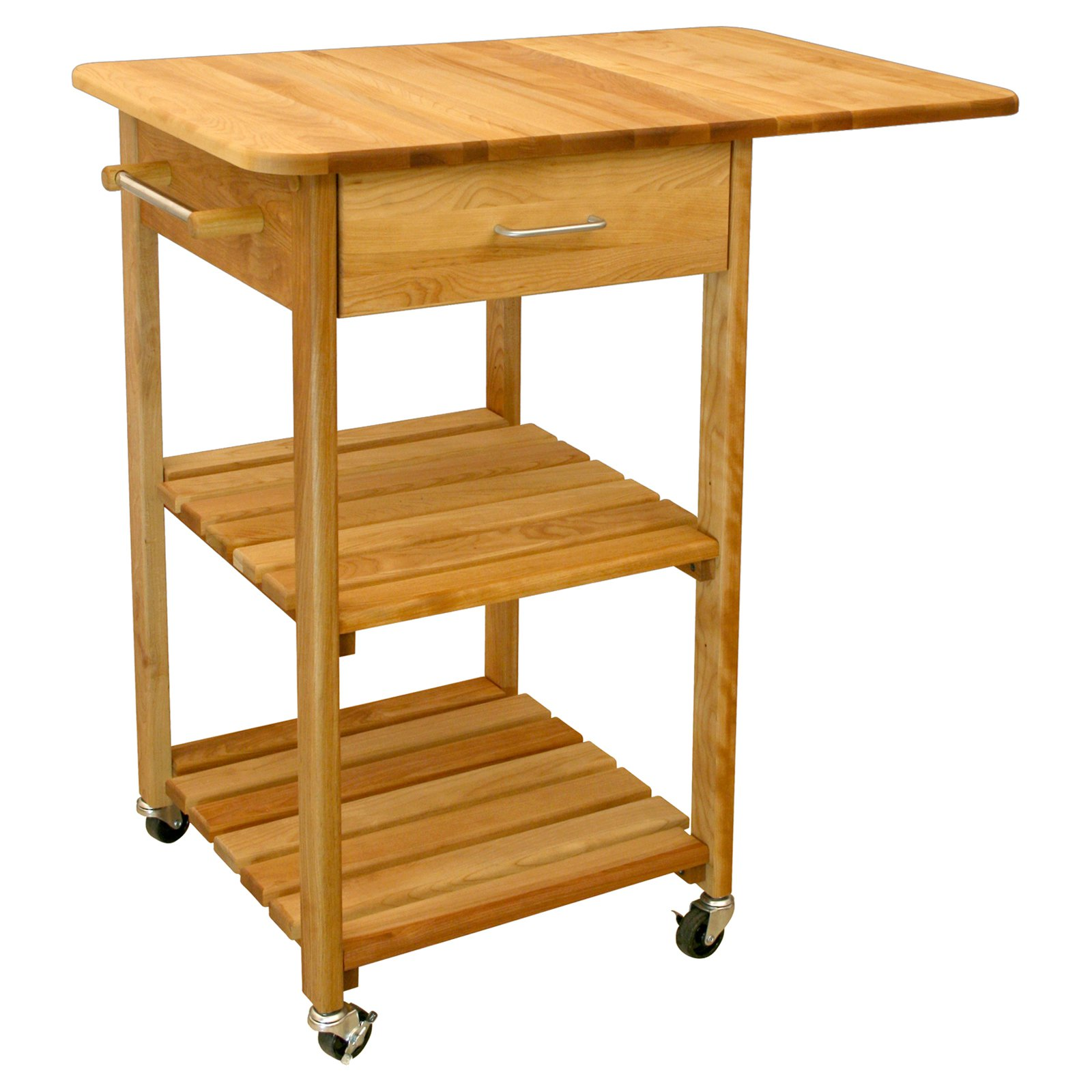 Aspen Butcher Block Kitchen Cart