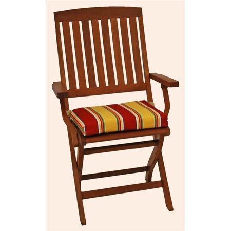 Cushion for Outdoor Folding Chair - Set of 6 (Haliwell Multi) ()