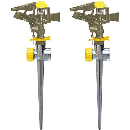 Nelson Sprinkler 852023-1001 Pulsating Sprinkler Combo