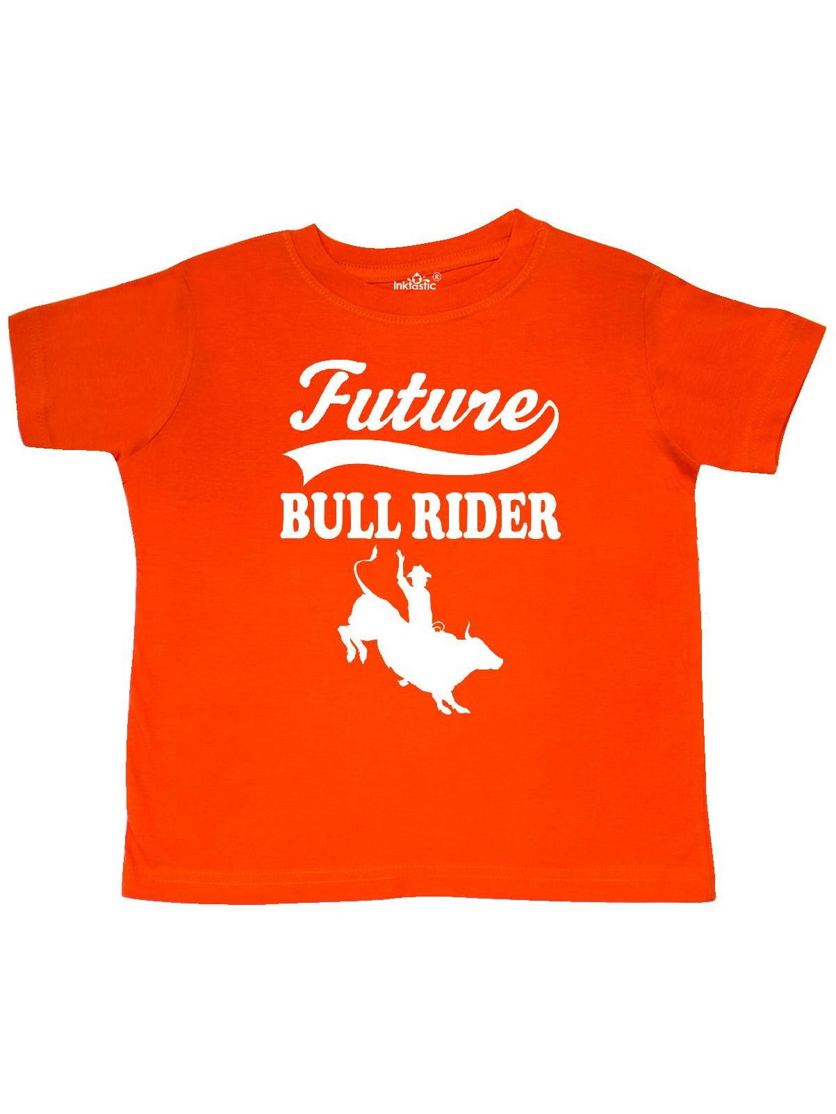 Future Bull Rider Rodeo Riding Toddler T-Shirt