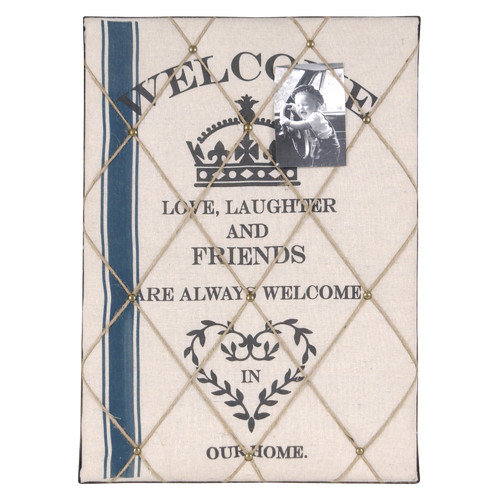 Wilco Home 'Welcome' Wall D cor 1.83' x 1.5' Memo Board