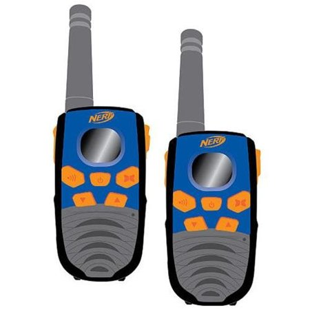 Nerf FRS Two-Way Walkie Talkie Set, 10-mile range (1 pair)