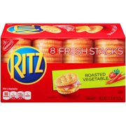 Nabisco Ritz Fresh Stacks Roasted Vegetable Crackers, 11.5 Oz., 8 Count