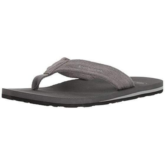 684d29942341 Volcom - Volcom Men s DRIFTIN Suede Strap Leather Sandal FLIP Flop ...
