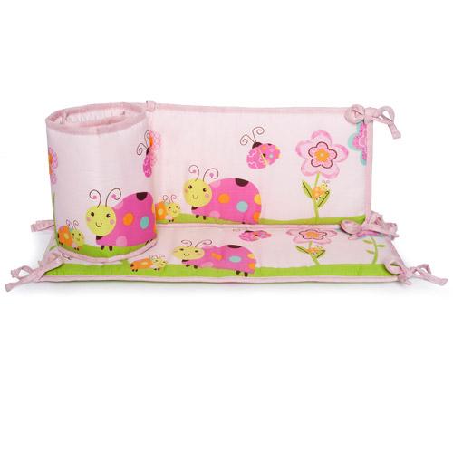 Graco Sweet Ladybug All Around Crib Bumper