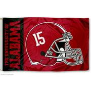 Alabama Crimson Tide 15 Football Helmet 3' x 5' Pole Flag