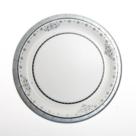 "Silver Anniversary 7"" Plates"