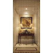 Beautiful Home Decor Acrylic Beaded Curtain - Silver Balls