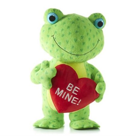 hallmark hearts a hoppin frog with sound and motion - Hoppin Frog