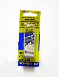 1//4 In x 3//4 In. 45950 Dorman License Plate Fasteners