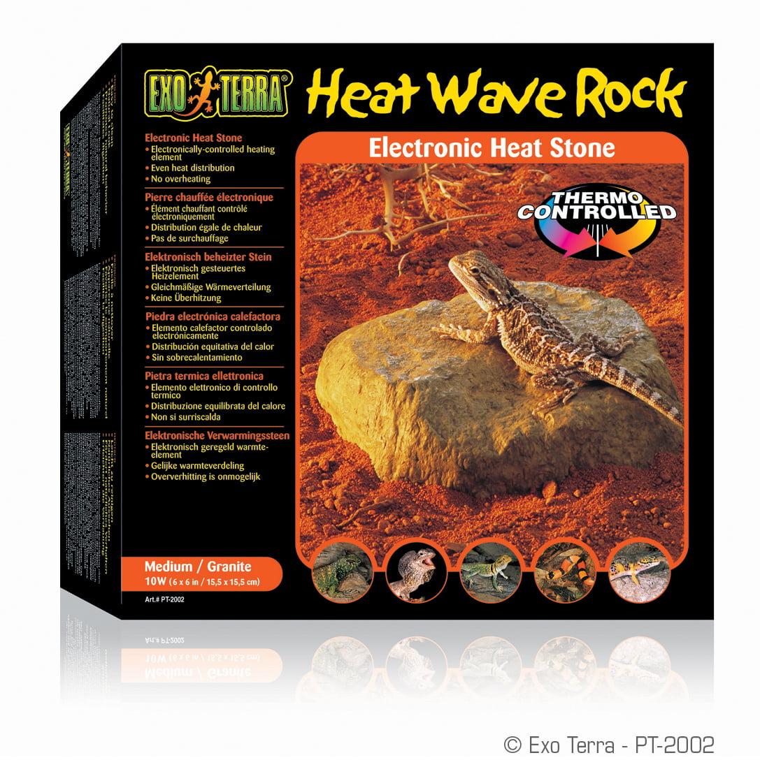 Exo Terra Reptile Terrarium Heatwave Rock, Medium
