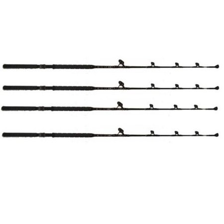Cross Water Fly Rod - 4 pack 160 - 200 lb. Blue Marlin Tournament Edition saltwater fishing rods