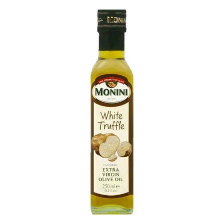 Monini Extra Virgin Olive Oil White Truffle, 8.5 OZ (Pack of 6)